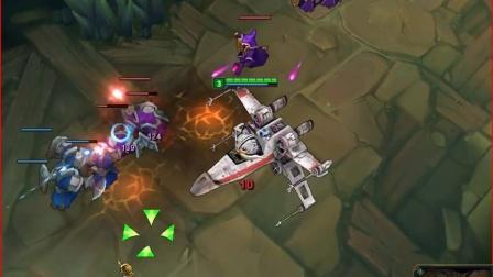 星球大战 X翼战机 英勇投弹手 库奇