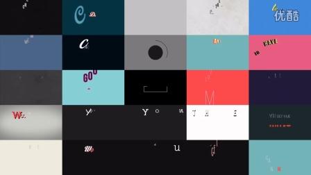 551种时尚复古潮流文化扁平化文字字幕条标题主题排版动画 AE模板