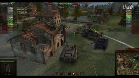 坦克世界 T95 7300输出