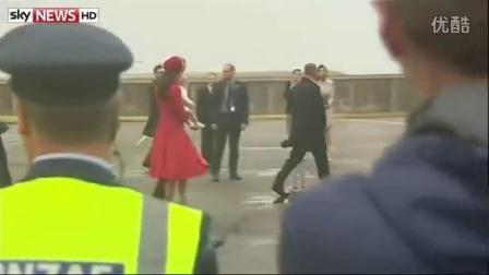 乔治小王子皇家之旅到达新西兰机场合辑