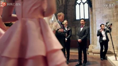 周杰伦与昆凌英国Selby Abbey教堂婚礼现场 - 周杰伦