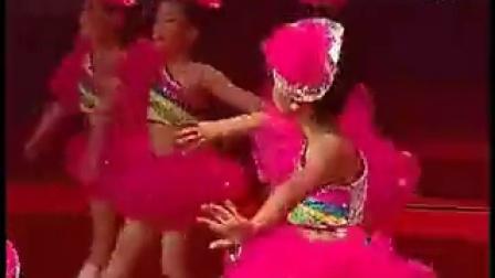 六一幼儿舞蹈视频 《为我鼓掌 甩葱歌》可参考教学_标清