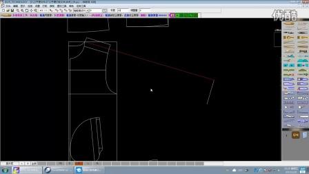 服装纸样视频 纸样视频教程 cad视频教程 服装打版公开课    第3节  超清