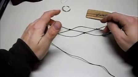 生存用梭子织鱼网