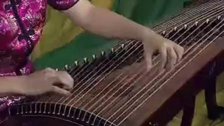古筝练习曲5级6 扫摇练习 第57页标清