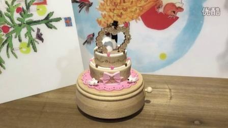 粉红结婚蛋糕