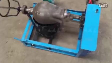 老式大炮嘣栗子机,爆米花锅熟铁锅不用搬锅