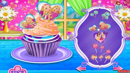芭比娃娃★芭比娃娃蛋糕装饰