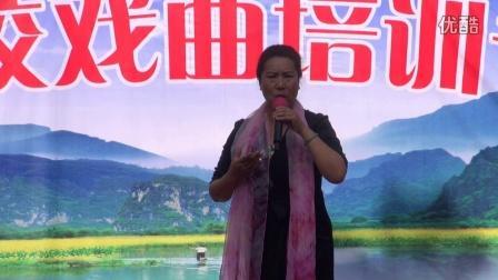 南阳艺校戏曲培训班公园演唱会(下集) 夕霞乐录制