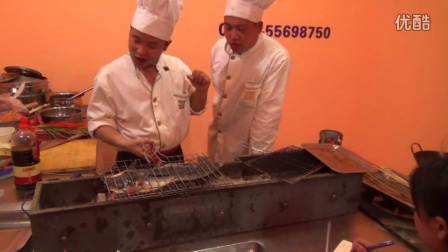 韭菜烧烤教程,烤羊肉串的做法,烧烤配方视频技术