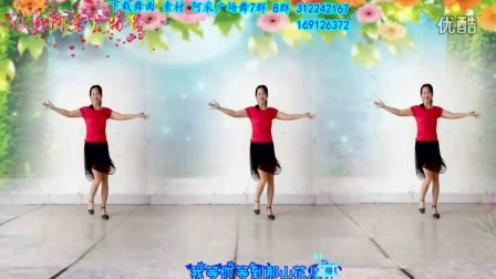 原创视频 正反面演示 遇到真爱 洛阳 爱贺广场舞