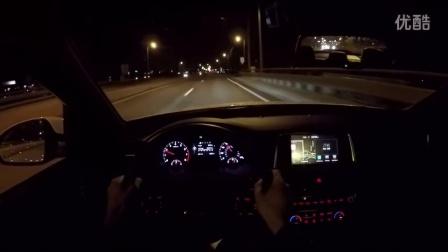 2016款起亚K5 Optima SX Turbo个人视角夜间试驾
