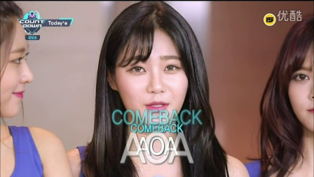 AOA - Today's 160519 Mnet M!Countdown