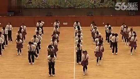 最新热门流行少儿舞蹈《青春飞扬》校园集体舞[高清]