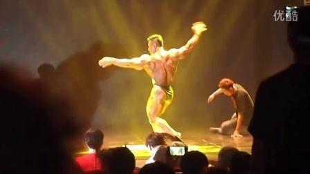金俊浩2013年健美自由展示表演