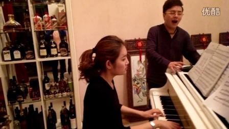 《我爱你》演唱:肖玛   钢琴伴奏:点点