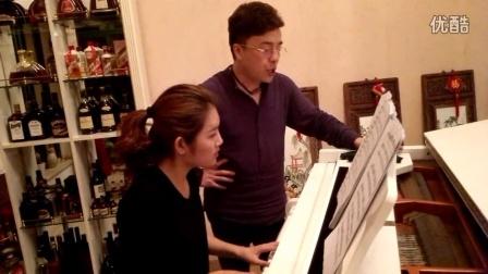 《献词》演唱:肖玛  钢琴伴奏:点点(林韶)