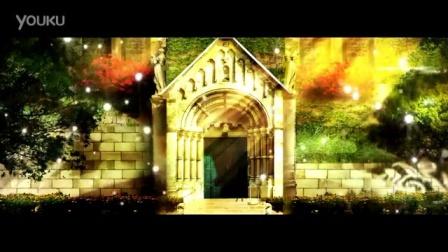 W32唯美浪漫欧式宫廷花园视频素材