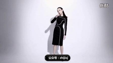 小黑裙SOIREE一条小黑裙搭出多种风格_高清