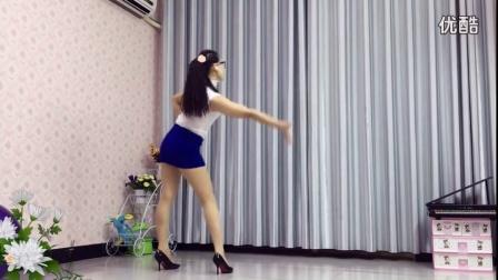 青青世界广场舞 超活力《DJ沧桑情歌》附光脚背面原创重庆叶子_超清