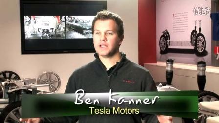 Electric Motor - Model S, Tesla Motors 特斯拉发动机内部