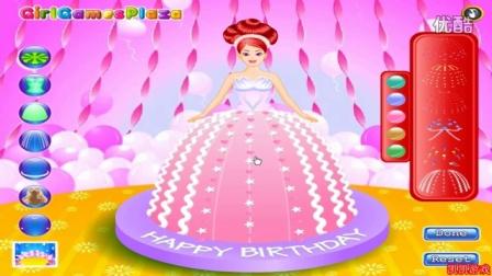 芭比娃娃★芭比蛋糕