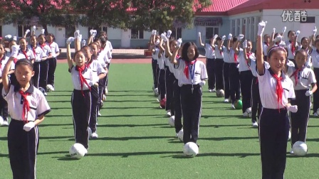 临河区第五小学足球操