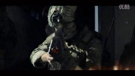枪战短片 枪火特效练习 巷战对射击杀敌人 测试片段