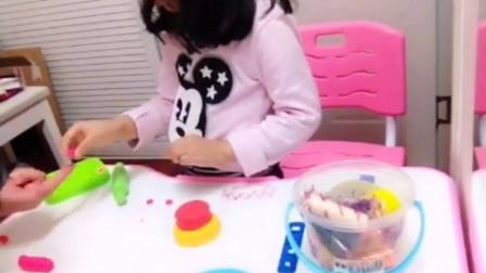 今天我生日 给大家做一个蛋糕吧! (上)欣怡故事屋 人家的小孩
