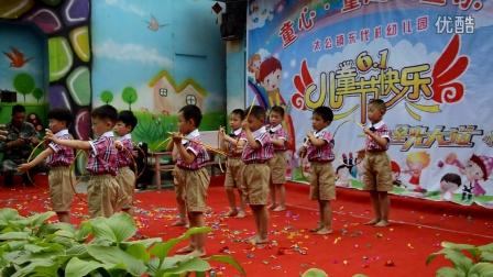 东代村幼儿园圆圈舞