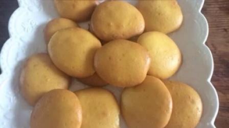 蛋黄饼干的制作方法