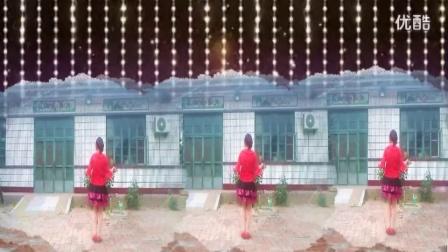 阿娜广场舞玫瑰好看刺扎人背面恰恰舞