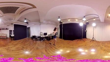 360全景视频大尺度性》感美女热舞短裤