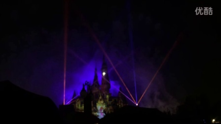 上海迪士尼夜光幻影秀 Shanghai DisneyLand A Nighttime Spectacular of Magic and Light