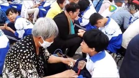 教育中国李帅老师在通辽七中激情演讲