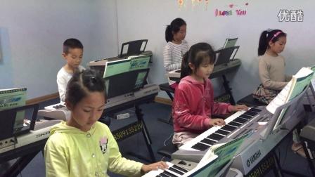 喜多瑞琴行,电子琴课堂(虫儿飞)弹唱
