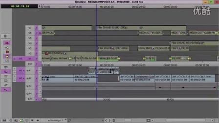 Media Composer 8.5 视频:Sync lock trim