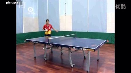 第12集:乒乓球正手高抛发球