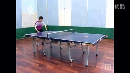第9集:乒乓球直拍反手侧上、侧下旋发球