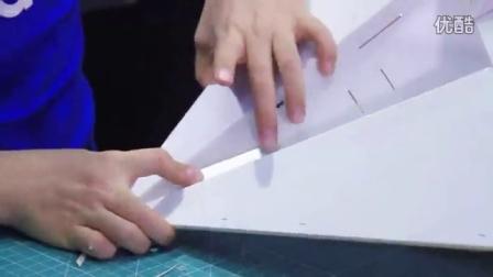 酷玩实验室 · 飞机教程库室 · 系列教程 · 彩虹号纸飞机制作