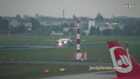 柏林泰格尔机场恐怖鸟群
