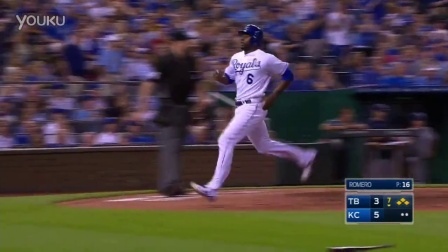 TB@KC Infante pops out to extend the lead