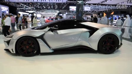 Fenyr Supersport by WMotors at Dubai Motor Show 2015