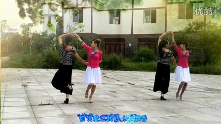 2016最新 双人对跳舞《长发飘香》齐星茂蓉广场舞