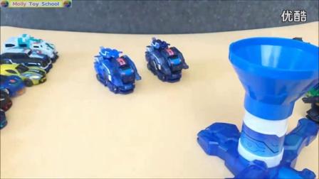 【魔力玩具学校】绝地雄狮晶片召唤发射套装(开箱试玩测评)强袭系列 自动变形玩具车机器人魔幻车神猎车兽魂狙击疾速系列