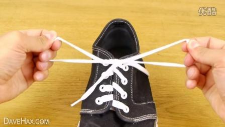 让孩子两分钟学会的系鞋带方法,超实用