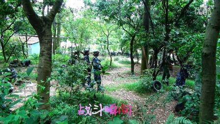 向英雄的子弟兵致敬之蓝新喷码机公司野外枪战-广州蓝新