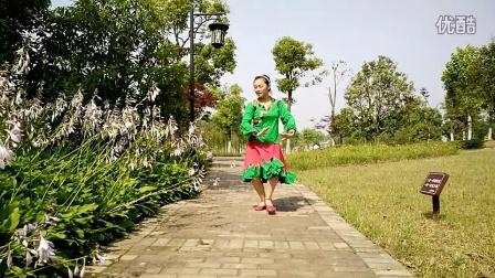 武汉白玫瑰学跳云裳广场舞火红的萨日朗VID20160605091153