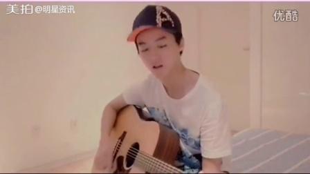 #吉他主唱王俊凯#如今的TFBOYS-王俊凯 弹...|明星资讯