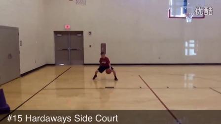 篮球教练想提高控球过人的爱好者看!37种过人训练